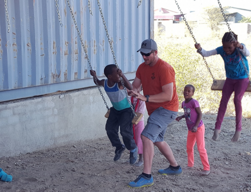 Namibia Mission Team Blesses Children Throughout Community