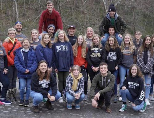 Tomoka's Students Help Out at Anchor Ridge